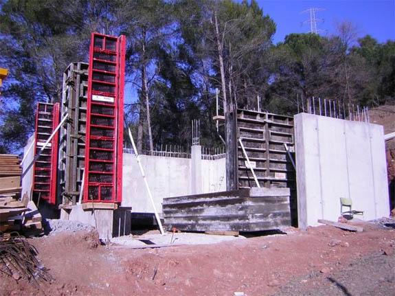 Drevdom cimientos estructuras casas de madera - Estructura casa de madera ...