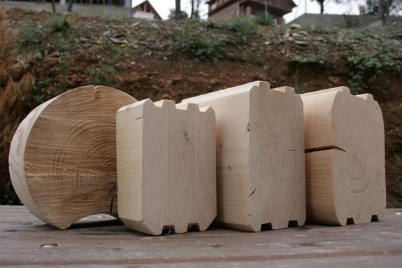 Drevdom casas de troncos tronco redondo tronco - Casas de troncos redondos ...